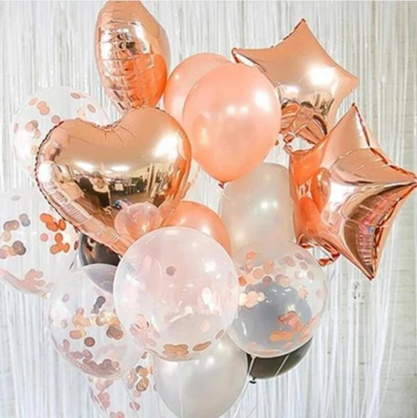 Hearts-star-foil-balloon-bouquets