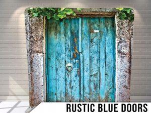Rustic-blue-doors